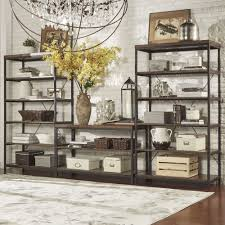 Somme Rustic Metal Frame 6-tier Bookshelf Media Tower by iNSPIRE Q Classic  - Free Shipping Today - Overstock.com - 17494106