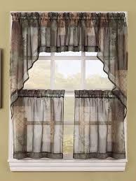 Sage Kitchen Curtains