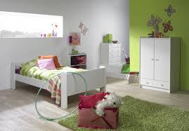Jugendzimmer Kinderzimmer MDF weiß lackiert Bett Schrank Kommode ...