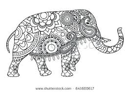 Coloring Page Of An Elephant Coloring Pages Elephant Free Printable