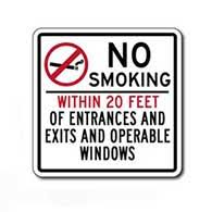 No Smoking Signage No Smoking Signage Smoke Free Signs Stopsignsandmore