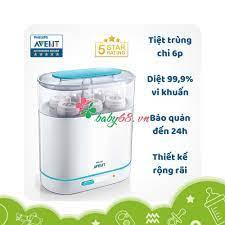 SIÊU RẺ] Máy tiệt trùng bình sữa Philips Avent hơi nước 3 in 1, Giá siêu rẻ  2,850,000đ! Mua nhanh tay! - Sale Siêu Rẻ