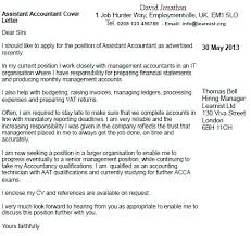 Accounting Resume Cover Letters Sample Cover Letters For Accounting Jobs Sample Cover Letter For