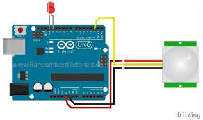 pyroelectric infrared ir pir motion sensor detector module hc Wiring Diagram For Pir Sensor the pins on the sensor are labeled place the led between pin 13 and ground on the arduino the schematic shows the details of how to set up the sensor wiring diagram for pir sensor