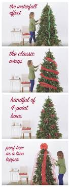 How-To Video: 5 Ways to Use Ribbon on Your Christmas Tree