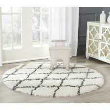 decorating with area rug round safavieh moroccan ivory grey gray circle carpet rugs contemporary small