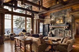 Rustic Living Room Rustic Interior Design Breakingdesignnet