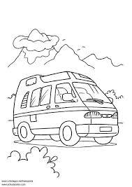 Kleurplaat Bestelwagen Afb 3088 Images