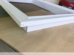 Wall Mounted Tv Frame How To Build An Easy Diy Custom Frame For A Wall Mounted Tv Part 1