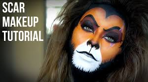 lion king s scar makeup tutorial