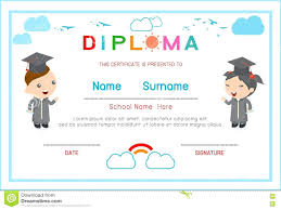 certificates of completion for kids template preschool certificate template