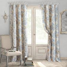 Single window curtain Nepinetwork Polyester Single Window Curtain Panel The Home Depot Elrene Annalise 52 In 95 In Polyester Single Window Curtain