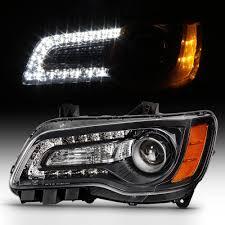2014 Chrysler 300 Lights Amazon Com Acanii For 2011 2014 Chrysler 300 Halogen Led