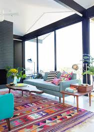 modern colorful furniture. Modern Colorful Living Room Ideas Rooms On Trend Alert Mid Century Furniture S