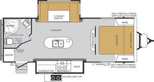 2016 forest river wildcat maxx 23dks travel trailer gillette wy floorplan