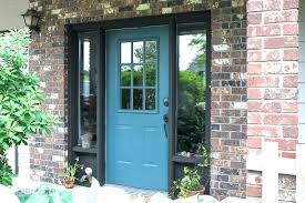 exterior door painting ideas. Brilliant Ideas Door Painting Industrial Front Repaint In Fusion Mineral Paints  Homestead Blue With Tips Intended Exterior Door Painting Ideas