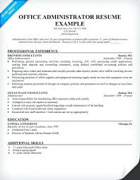School Administrator Resume Stunning Office Administrator Resume Office Administrator Free Resume Medical