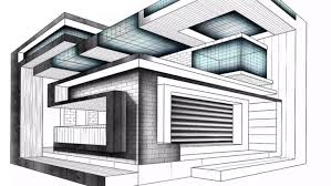 modern architectural sketches. Modern Architecture Drawing Youtube Picture Home Architectural Sketches