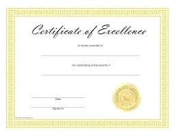 Certificate Of Excellence Template Word Award Of Excellence Template Word Certificate Templates Excellence 19