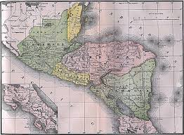 americas historical maps perry castañeda map collection ut central america 1892
