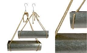 Hanging Metal Planters, Farmhouse, Industrial, Antique, Rustic, Vintage,  Barnyard, Indoor and Outdoor Hanging Plant Holders, Metal and ...