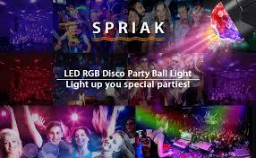 <b>Party Lights Disco</b> Light, Spriak Sound Activated Dj Stage Strobe ...