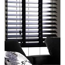 black wooden blinds. Black Wood Venetian Blind 50mm Slats With Tapes Wooden Blinds