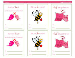 Video game valentine cards & bookmarks. Awesome Free Printable Valentines Day Cards Kat Balog