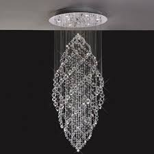 stairwell lighting. diyas colorado 9 light crystal drop pendant il30784 stairwell lighting