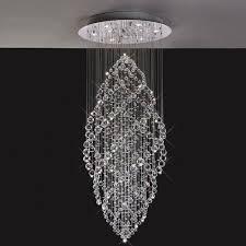 stairwell lighting. diyas colorado 9 light crystal drop pendant il30784 stairwell lighting