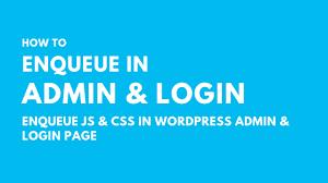 style in wordpress admin login