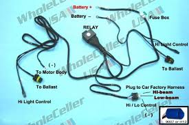 hid xenon conversion kit h4 9003 35w hi lo fuse relay wiring Wiring Harness Controller hid xenon conversion kit h4 9003 35w hi lo fuse relay wiring harness controller brake controller wiring harness