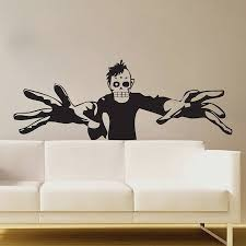 Small Picture 3D Zombie Wall Art Mural Trendy Wall Designs