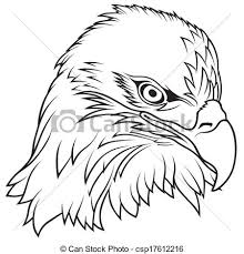 bald eagle template drawn bald eagle outline 3252001