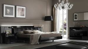 Masculine bedroom in dark colors
