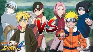 Boruto, Mitsuki & Sarada VS Naruto, Sasuke & Sakura - Naruto Song Đấu -  YouTube