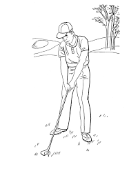 Small Picture Summer Golf Sports Coloring Pages Sport Coloring pages of