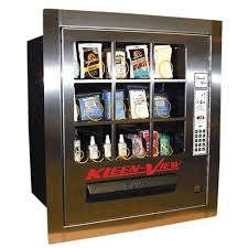 Stacker Vending Machine Cool 48CAN KleenView Vending Machine W Canadian Bill Acceptor