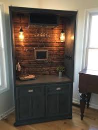 repurposed furniture ideas. Armoire Bar Cabinet, Coffee Station, Bar, Repurposed Armiore, Wine  Bar...Custom Order Today Repurposed Furniture Ideas