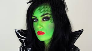 witch make up ideas green witch