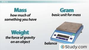 Small Metric Weight The Metric System Units And Conversion