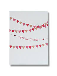 wedding stationery handmade heart bunting wedding bunting Wedding Thank You Bunting Uk bunting thank you cards wedding hearts Succulent Thank You Bunting