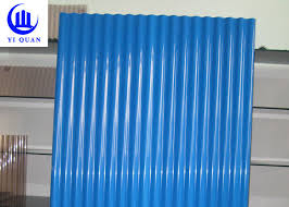 building material waterproof corrugated pvc panels tinted plastic roofing sheets