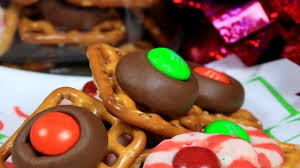 photo of chocolate pretzels by mel