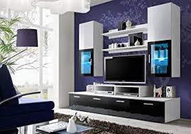 Amazing BMF U0026quot;MINI BLACK GERMAN STYLE Entertainment Wall Unit   Living Room/Bedroom  /