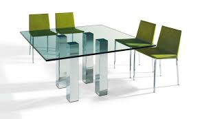2 seater glass dining table