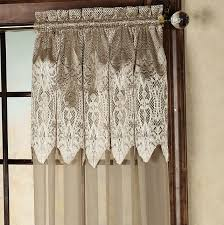 adorable sheer curtains with attached valance decorating with curtain with valance attached home design ideas