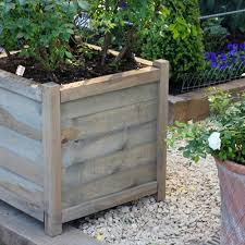 ... Diy Wood Planters Large Wood Planter Boxes Rectangular Design Model  Outdoor: marvellous diy ...