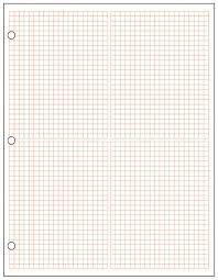 Graph Papper Metric Quadrant Graph Paper 1 2 Cm Red 500 Sheet Ream