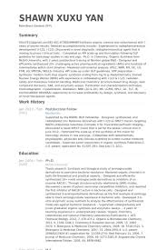 Bioinformatics Resume Sample Postdoctoral Fellow Resume samples VisualCV resume samples database 28